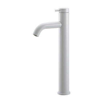 画像1: 水栓金具 カクダイ 716-255-W 立水栓(トール) ホワイト [♪■]