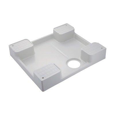 画像1: 洗面所 カクダイ 426-417-W 洗濯機用防水パン ホワイト [♪■]