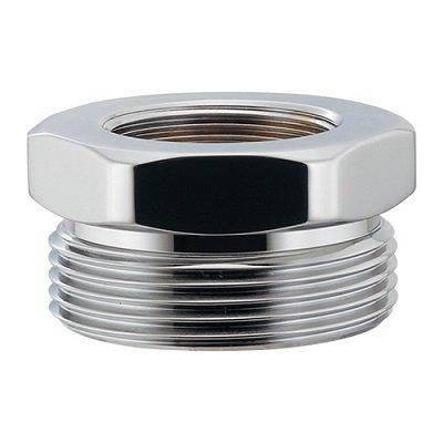 画像1: 水栓金具 カクダイ 468-700 排水ネジ変換アダプター [□]
