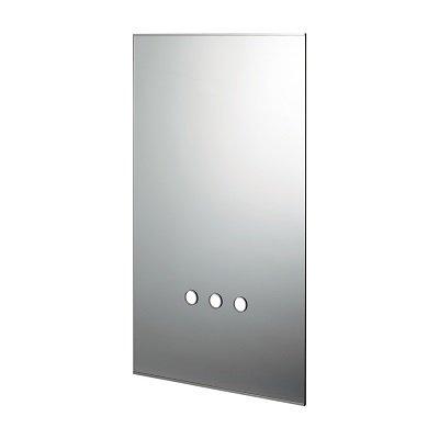 画像1: 洗面所 カクダイ 207-561 化粧鏡(水栓取付穴つき) [♪■]