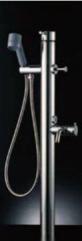 水栓金具 INAX LF-902S シャワー付水栓柱(レバーハンドル) 単水栓柱 逆止弁付 一般地・寒冷地共用 [□]