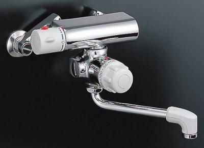 画像1: 【在庫あり】水栓金具 INAX BF-M340T ミーティス サーモスタット付バス水栓 壁付きタイプ 定量止水 逆止弁付 一般地 [☆]
