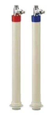 水栓金具 KVK GDJSK-CKN 吸気弁付自立止水栓 キッチン・洗面用