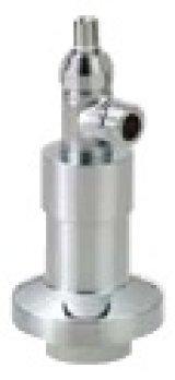 水栓金具 KVK GDJST-SKN 吸気弁付自立止水栓 トイレ用 ストレート止水栓