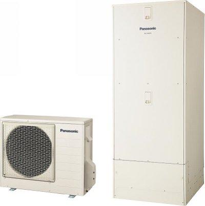 画像1: エコキュート パナソニック HE-D46FQS 本体のみ DFシリーズ 床暖房機能付 フルオート 一般地向 460L [♭]♪(^^)【店販】]