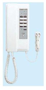 インターホン アイホン IE-8MD 親機 一斉呼出ボタン付 ドアホン呼出音個別規制スイッチ付 [∽]