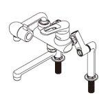 ■ イトミック ワンレバー式混合水栓まぜまぜP・MZ-N3Pシリーズ【MZ-3N3P】床置型給湯器ES-DWシリーズ専用・立ち上がり配管