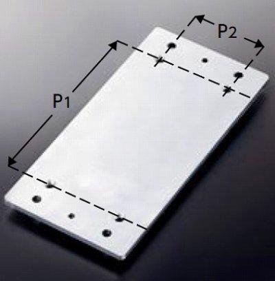 画像1: 固定金具 TOTO T110D61 取付プレート 前方アームレスト用 [■]